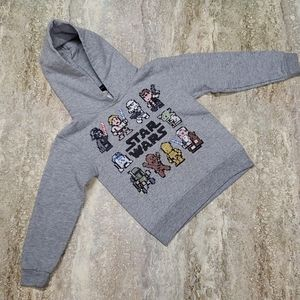 STAR WARS YOUTH HOODIE SIZE SMALL